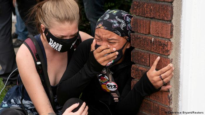 Breonna Taylor protest (Lawrence Bryant/Reuters)