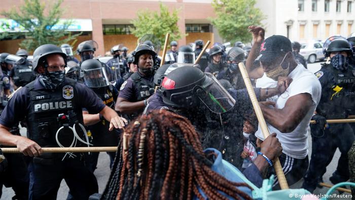 Breonna Taylor protest Louisville (Bryan Woolston/Reuters)