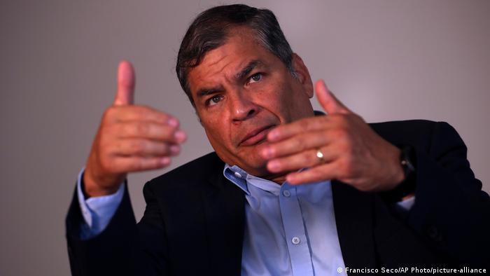Rafael Correa (Francisco Seco/AP Photo/picture-alliance)