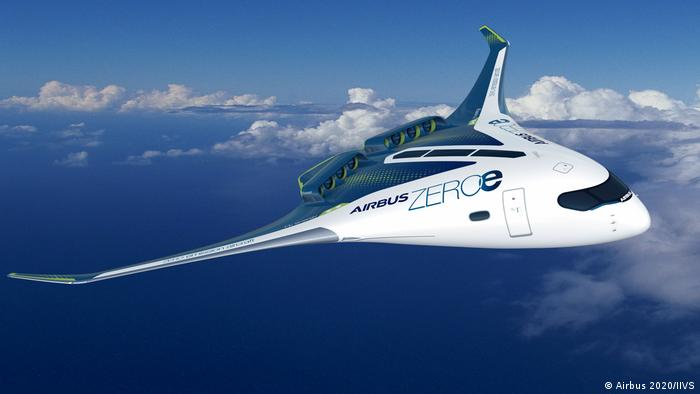 The Airbus Blended Wind Body concept aircraft
