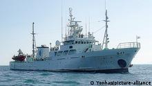 Südkorea WSFMS Fischfang Ministerium Flotte