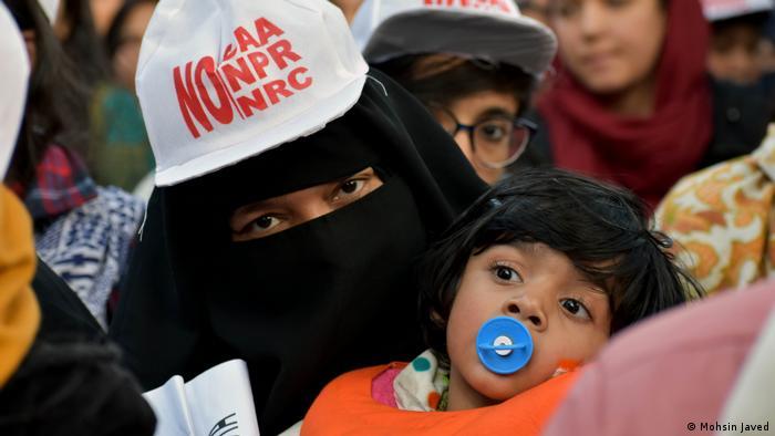 Indien Neu Delhi Citizen Amendment Act Protest (Mohsin Javed)