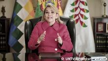 UN I Ansprache Jeanine Anez Chavez I Bolivien