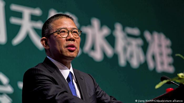 China Peking | Zhong Shanshan Vorsitzender Nongfu Spring Co Ltd