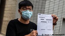 Hongkong Joshua Wong kurzzeitig festgenommen