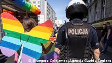 Polen Kattowitz | Pro-LGBT Pride Marsch