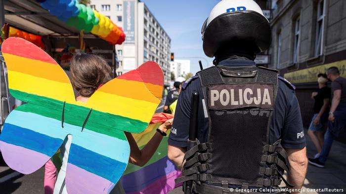 Гей-парад в Польше