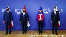 Belgien Visegrad-Gruppe Orban Babis von der Leyen