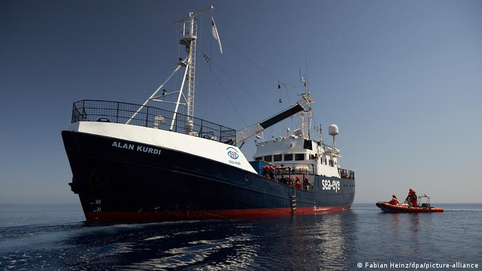 Italien Sizilien   Coronavirus   Rettungsschiff Alan Kurdi