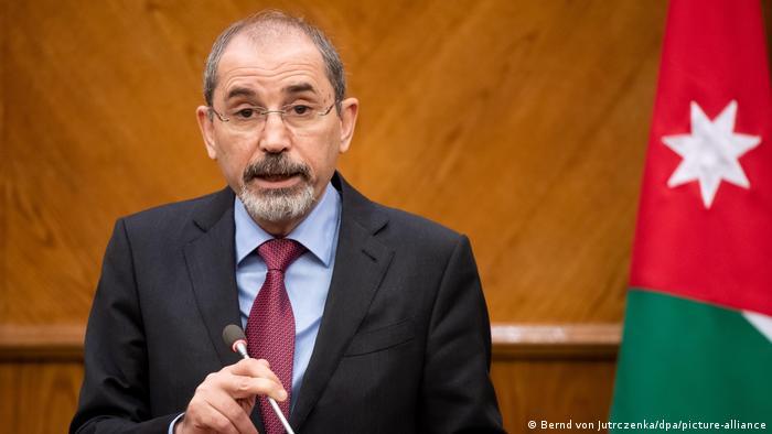 Aiman Safadi, jordanischer Außenminister (Bernd von Jutrczenka/dpa/picture-alliance)