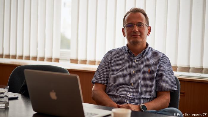 Attila Miszori of the Budapest Internet eXchange