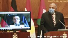 Videokonferenz I Sameh Shoukry I Heiko Maas