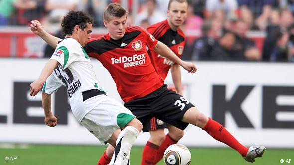 Fußball Bundesliga - Bayer Leverkusen gegen Hannover 96