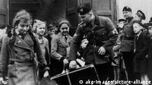 Ankunft v.Berliner Kindern in Posen 1940