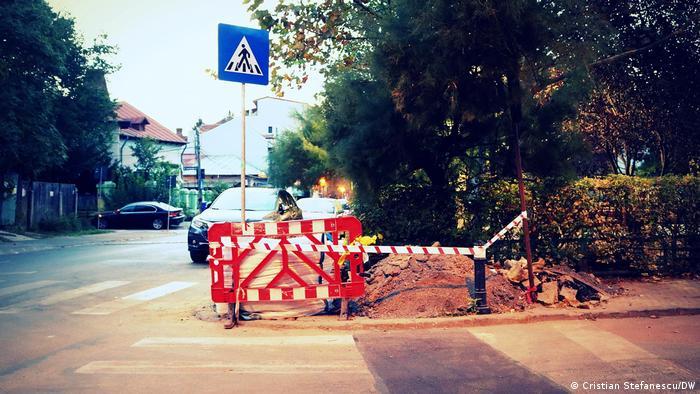 Un șantier părăsit la București (Cristian Stefanescu/DW)