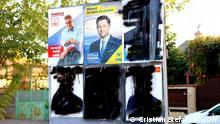 Über 250.000 Kandidaten versuchen am Sonntag, Sitze in der lokalen Verwaltung in Rumänien zu bekommen. Dies ist das achte Mal, dass in Rumänien freie Kommunalwahlen stattfinden. Voluntari (Vorort von Bukarest), 22.09.2020. Fotograf: DW / Cristian Stefanescu