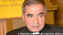 Italien Rom | Kardinal Angelo Becciu