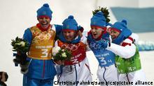 Olympische Winterspiele Sotschi 2014 | Biathlon Frauen Team Russland