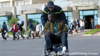 Marokko Oujda Illegale Migranten aus Mali (Abdelhak Senna/AFP/Getty Images)
