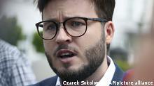 Polen LGBT-Aktivist Bartosz Staszewski