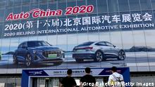 Peking Auto China 2020 Automesse (Greg Baker/AFP/Getty Images)