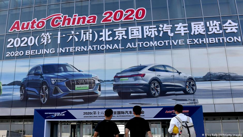 Auto China 2020: German carmakers look to switch gears