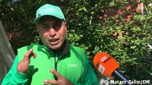 Mohammad Al masri, syrischer Flüchtling der in Deutschland ein Gemüsehof gegründet hat
