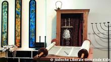 Prayer room in a synagogue in Cologne (Jüdische Liberale Gemeinde Köln)
