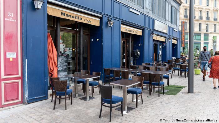 Marseille Coronakrise Proteste gegen Gastronomie Schließungen