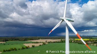 Μονάδα ανανεώσιμων πηγών της Siemens Energy στο Βρανδεμβούργο της Γερμανίας