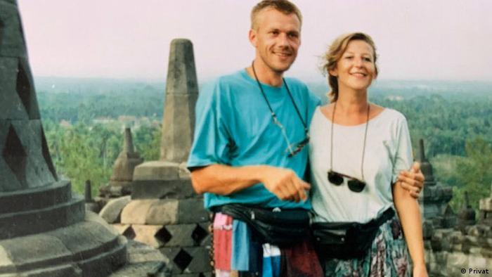 Bettina Stehkämper und ihr Mann (Privat)