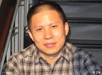 Anwalt Xu Zhiyong *** Thema Menschenrechtsanwälte China - Bilder von DW-Korrespondentin Ruth Kirchner, April 2010