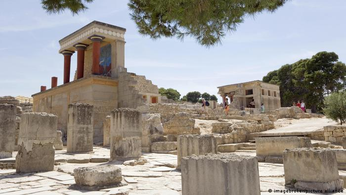 Minoer Knossos Kreta Griechenland (imagebroker/picture alliance)