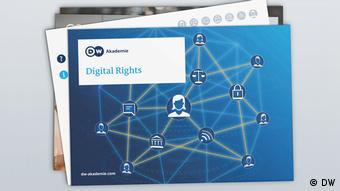 Mockup Flash Cards Digital Rights DW Akademie