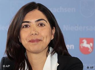 Lower Saxony minister-designate Ayguel Oezkan