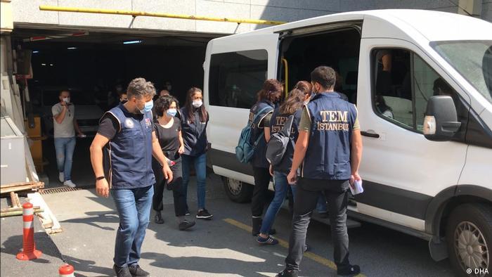 Festnahmen in der Türkei (DHA)