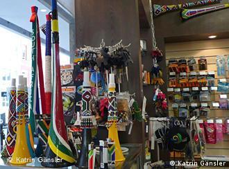 Vuvuzelas in allen Formen und Farben Foto: Katrin Gänsler