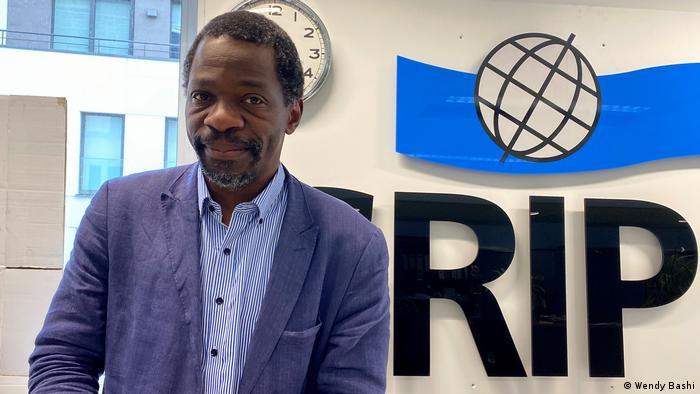 Michel Luntumbue, chargé de recherche au Groupe de recherche et d'information sur la paix