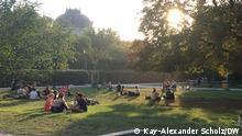 Corona I Sommer im Monbijou-Park in Berlin-Mitte