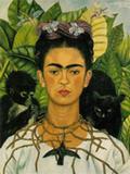 Frida Kahlo  em autorretrato