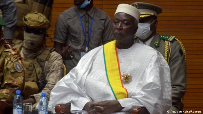 Bah Ndaw, Presidente transitório do Mali