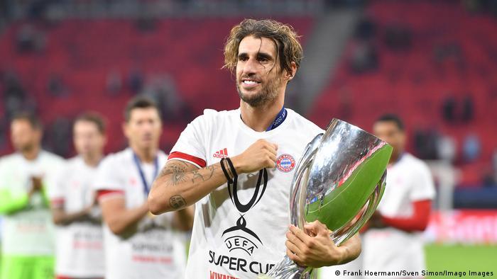 Fußball | UEFA Super Cup | FC Bayern – FC Sevilla | Javier Martínez