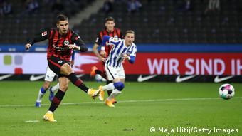 Andre Silva continued his fine goalscoring form