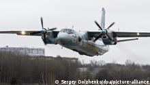 Ukraine | Militärflugzeug AN-26