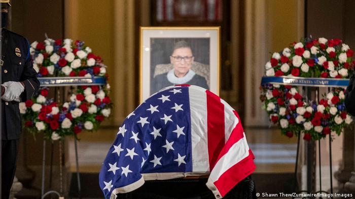 USA | Trauerfeier Richterin Ruth Bader Ginsburg