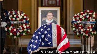 USA | Trauerfeier Richterin Ruth Bader Ginsburg (Shawn Thew/Zumawire/Imago Images)