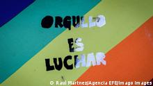 Uruguay LGBTI Marsch in Montevideo