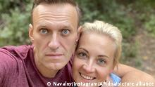 Deutschland | Kremlkritiker Nawalny und seine Frau Julia