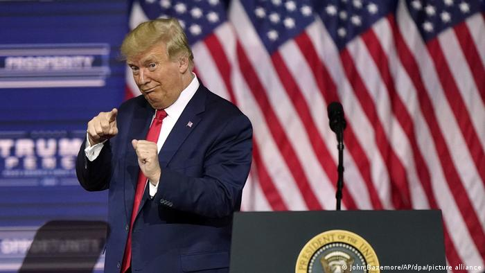 Wahlkampf in den USA   Präsident Trump