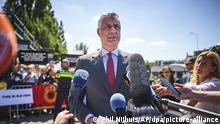 Niederlande Den Haag | Hashim Thaci Präsident Kosovo